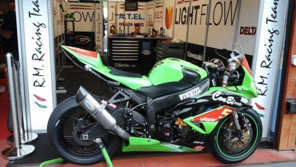 Team Mozzo Moto Pilota Andolfatto Nicola Kawasaki 600 ss